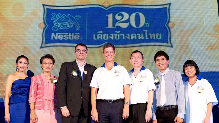 "Nestlé celebrates 120 years in Thailand rolls out ""Live Healthy, Live for More… Nestlé 120 Years Mobile Expo"""