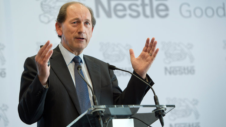 Nestlé CEO co-chairs Consumer Goods Forum