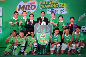 First time in Thailand for national junior futsal competition