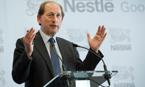 Nestlé CEO Paul Bulcke