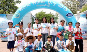 More than 200 children in grades 4-5 join in activities while learning water use