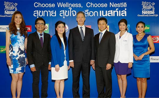 Choose Wellness, Choose Nestlé' to help improve health and wellness of Thais