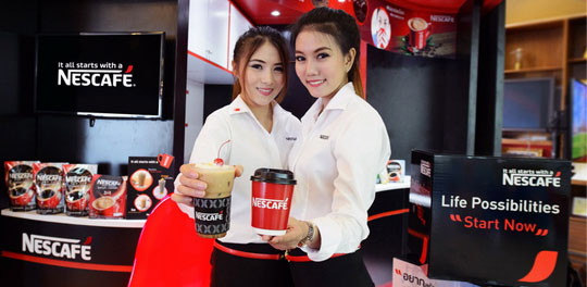 NESCAFÉ Pop-Up Café่