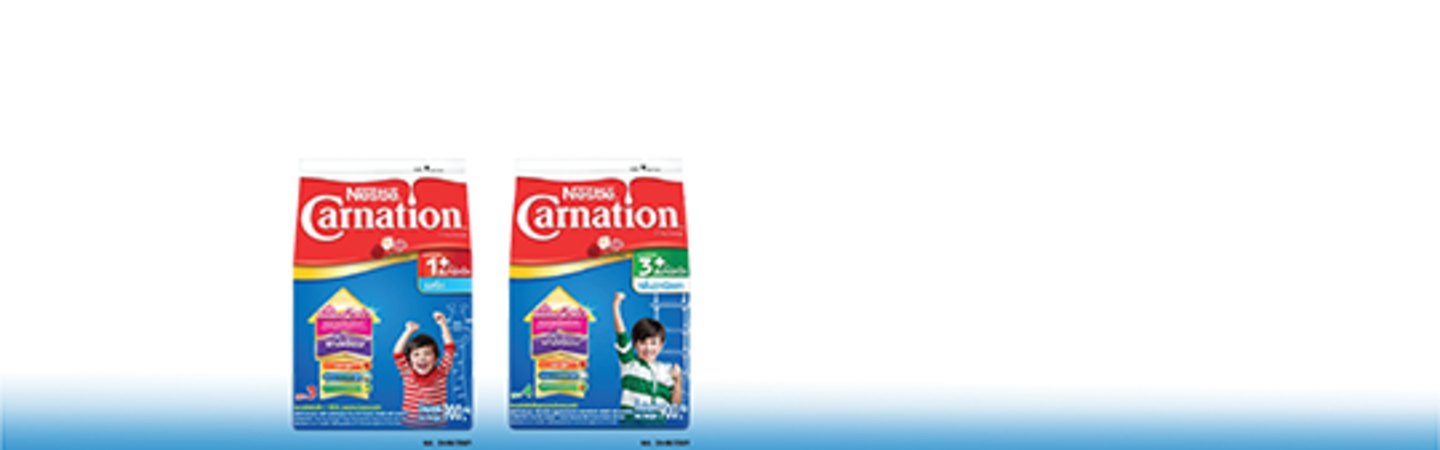 CARNATION 1 PLUS SMARTGO™ and CARNATION 3 PLUS SMARTGO™