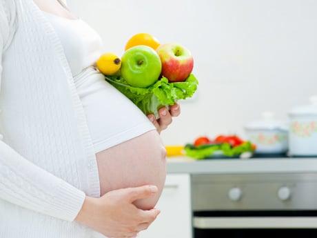 อาหารที่หลากหลายสำหรับหญิงตั้งครรภ์